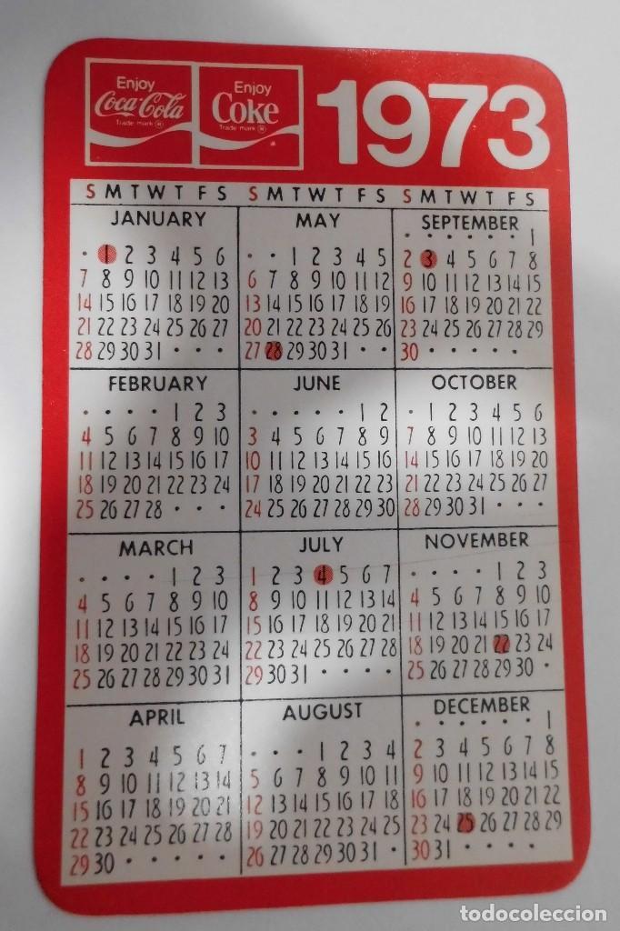 Calendario 1973.Calendario 1973 Coca Cola Usa Sold Through Direct Sale