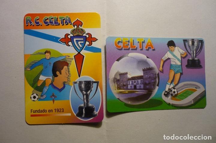LOTE CALENDARIOS FUTBOL CELTA -2000 -2006 (Coleccionismo - Calendarios)