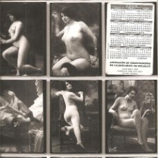 Coleccionismo Calendarios: 18 CALENDARIOS,DESNUDOS, 5ª SERIE, 2004, TODOS DISTINTOS, . Lote 117144147