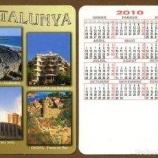 Coleccionismo Calendarios: CALENDARIOS BOLSILLO 2010 CATALUNYA - CAT.. Lote 117574391