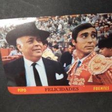 Coleccionismo Calendarios: CALENDARIO - FELICIDADES PIPO FUENTES - 1968 - TDKP2. Lote 117578083