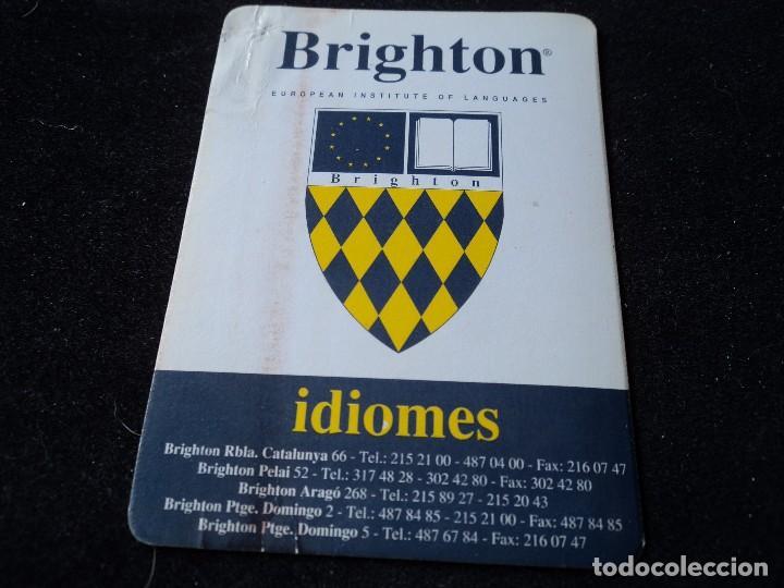 Calendario 216.Calendario Brighton Idiomes 1994