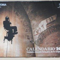 Coleccionismo Calendarios: CALENDARIO 2016 GRANDES DESCUBRIMIENTOS DE LA ARQUEOLOGIA. HISTORIA NATIONAL GEOGRAPHIC. Lote 118574555