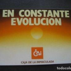Coleccionismo Calendarios: CALENDARIO CAJA DE AHORROS DE LA INMACULADA 1987. Lote 118741983