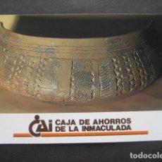 Coleccionismo Calendarios: CALENDARIO CAJA DE AHORROS DE LA INMACULADA 1991. Lote 118742403