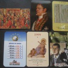 Coleccionismo Calendarios: 6 CALENDARIOS CAJA DE AHORROS DE LA INMACULADA 1995 - 96 - 98 - 99 - 99 - 00. Lote 118742879