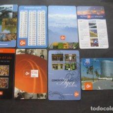 Coleccionismo Calendarios: 8 CALENDARIOS CAJA INMACULADA CAI 2001 - 02 - 03 - 04 - 05 - 06 - 07 - 08. Lote 118743139