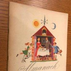 Coleccionismo Calendarios: ALMANACH EUROPE UNIE / 1951. Lote 118825931