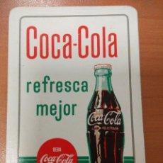 Coleccionismo Calendarios: ANTIGUO CALENDARIO FOURNIER DE COCA COLA 1962. Lote 118909863