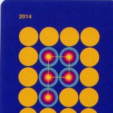 Coleccionismo Calendarios: CALENDARIO DEL INSTITUTO ASTURIANO DE PREVENCIÓN DE RIESGOS LABORALES - FOURNIER - AÑO 2014. Lote 119163983
