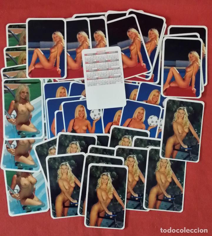 Coleccionismo Calendarios: 130 CALENDARIOS BOLSILLO TIPO TARJETA - CHICAS - Foto 6 - 119522227