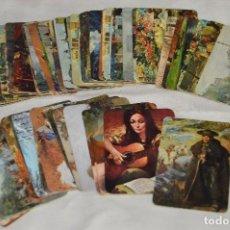 Coleccionismo Calendarios: VINTAGE - LOTE DE UNOS 60 CALENDARIOS - PINTURAS / CUADROS - VARIADOS - AÑOS 70 / 80 - HAZ OFERTA. Lote 119564043