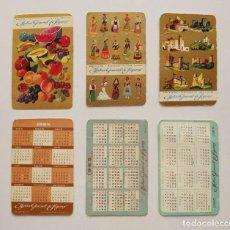 Coleccionismo Calendarios: 1965, 1968 Y 1969, CALENDARIOS MUTUA GENERAL DE SEGUROS. Lote 119935467