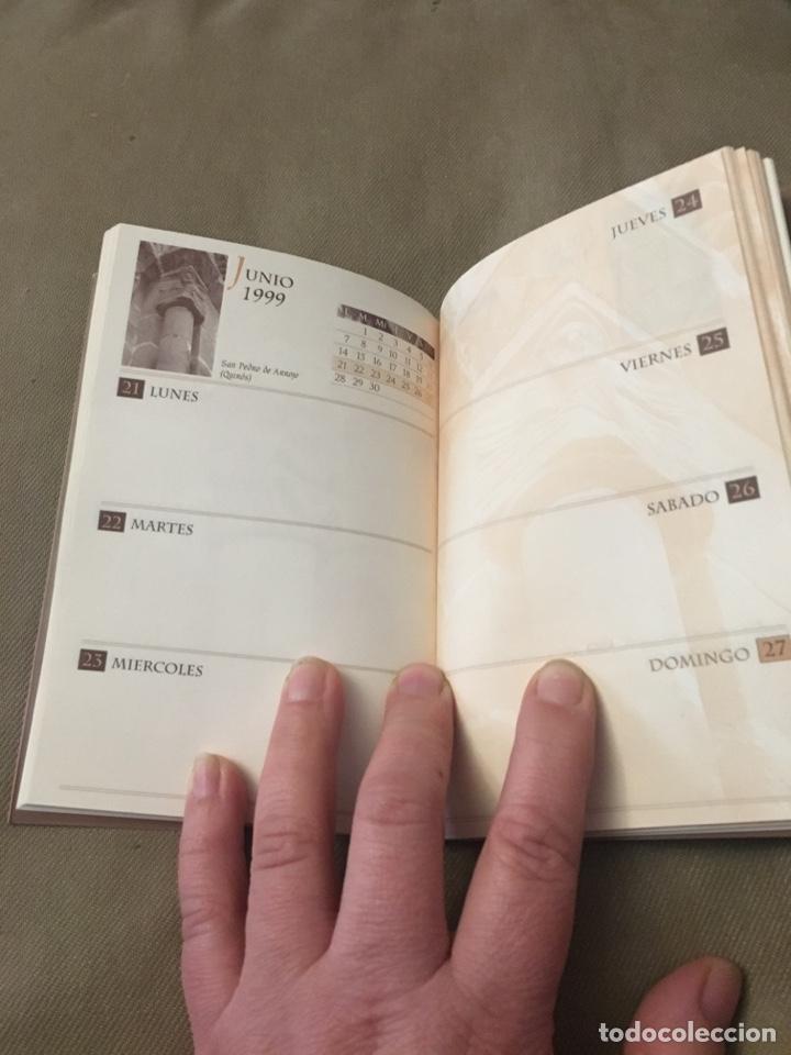 Coleccionismo Calendarios: Agenda 1999 HISTORIA EN LA PIEDRA - Foto 4 - 120179008