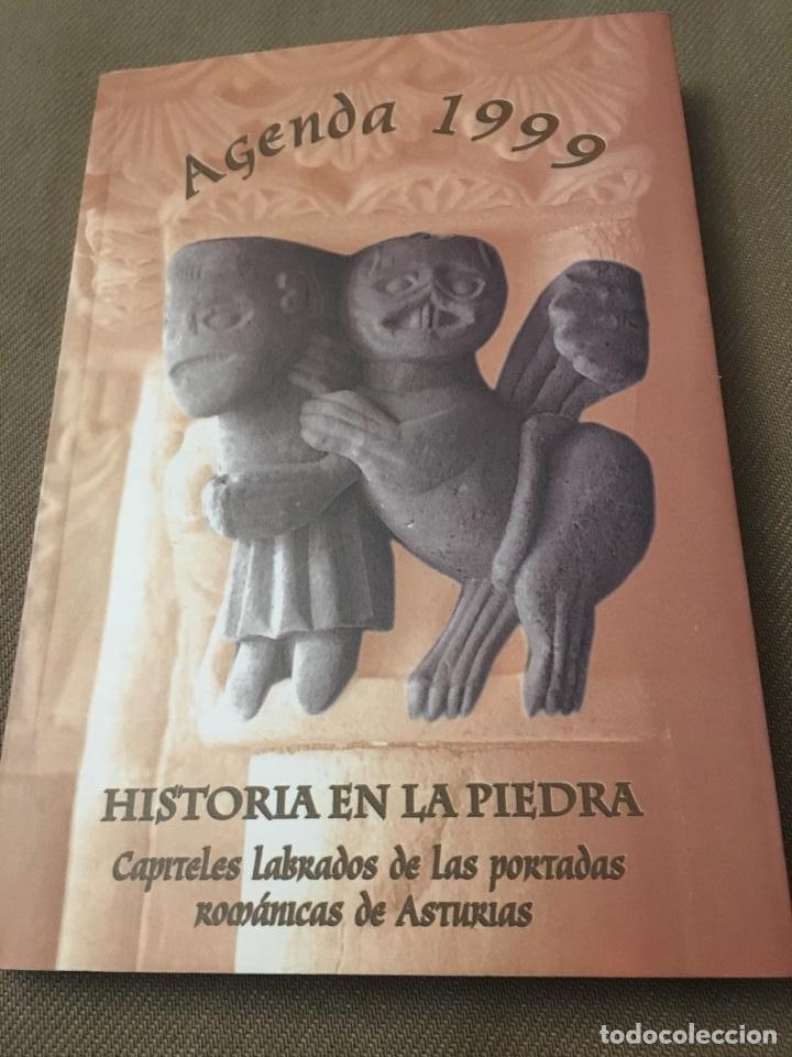AGENDA 1999 HISTORIA EN LA PIEDRA (Coleccionismo - Calendarios)
