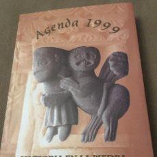 Coleccionismo Calendarios: AGENDA 1999 HISTORIA EN LA PIEDRA. Lote 120179008