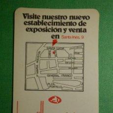 Coleccionismo Calendarios: CALENDARIO DE BOLSILLO - LA VAJILLA ENERIZ, S.A - AÑO 1976. Lote 120697115