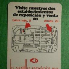 Coleccionismo Calendarios: CALENDARIO DE BOLSILLO - LA VAJILLA ENERIZ, S.A - AÑO 1978. Lote 120697203