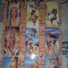 Coleccionismo Calendarios: 9 CALENDARIOS DE TEMATICA INDIOS. Lote 121168631