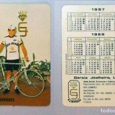 Coleccionismo Calendarios: CALENDARIO, PUBLICADO PORTUGAL - 1987 - MANUEL RODRIGUES. Lote 121214535