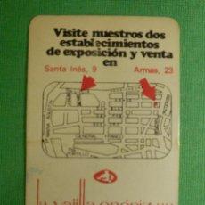 Coleccionismo Calendarios: CALENDARIO DE BOLSILLO - LA VAJILLA ENERIZ, S.A - AÑO 1979. Lote 121233843