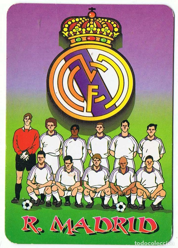 Real Madrid Calendario.Calendario De Bolsillo 2001 Real Madrid
