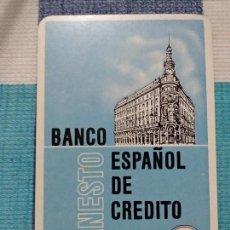 Coleccionismo Calendarios: ANTIGUO CALENDARIO FOURNIER 1969, BANCO ESPAÑOL DE CRÉDITO, BANESTO. Lote 121475291