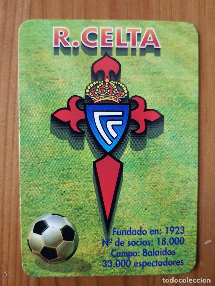 Calendario Celta Vigo.Calendario De Bolsillo Real Club Celta Vigo Bar O Portal San Miguel De Oia 1998