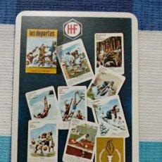 Coleccionismo Calendarios: ANTIGUO CALENDARIO FOURNIER 1968, PUBLICIDAD CARTAS FOURNIER. Lote 121479631