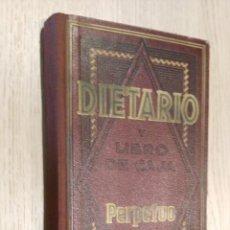 Coleccionismo Calendarios: DIETARIO. Y LIBRO DE CAJA PERPETUO QUERFO. MODELO 80. . Lote 121892883
