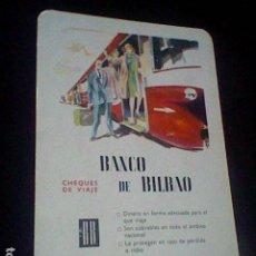 Coleccionismo Calendarios: BANCO BILBAO CALENDARIO FOURNIER 1964. Lote 121905759