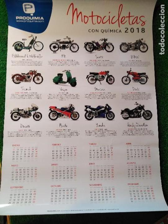 Calendario Grande.2018 Grande Calendario De Pared Motocicletas