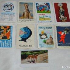 Coleccionismo Calendarios: LOTE DE 9 CALENDARIOS VARIADOS FOURNIER - AÑOS 60 / 70 / 80 - VINTAGE - HAZ OFERTA - ENVÍO 24H. Lote 122458631