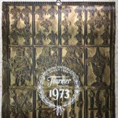 Coleccionismo Calendarios: CALENDARIO DE PARED, FOURNIER 1973.. Lote 122662082