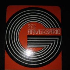 Coleccionismo Calendarios: CALENDARIO FOURNIER DE L. GUARRO CASAS. AÑO 1973.. Lote 122730087
