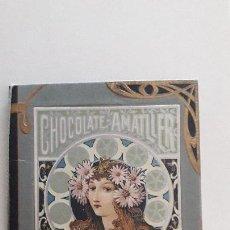 Coleccionismo Calendarios: ALMANAQUE CHOCOLATE AMATLLER / BARCELONA 1903. Lote 97033591