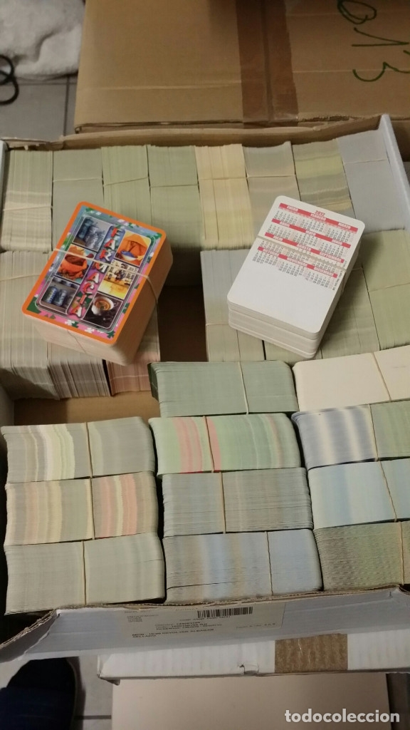 Coleccionismo Calendarios: MILES DE CALENDARIOS DE BOLSILLO NUEVOS - Foto 4 - 123071187