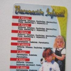 Coleccionismo Calendarios: CALENDARIO VACUNACIÓN INFANTIL 2004. Lote 124313383