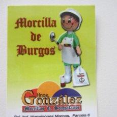 Coleccionismo Calendarios: CALENDARIO MORCILLA DE BURGOS 2013. Lote 236651890