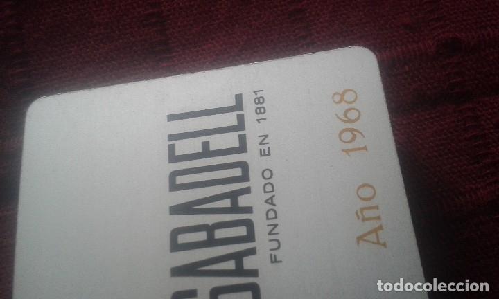 Coleccionismo Calendarios: CALENDARIO METALICO. BANCO DE SABADELL. AÑO 1968. ALUMINIO. NAVIDAD 1967. - Foto 20 - 125064275