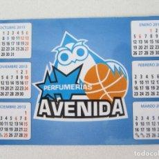 Coleccionismo Calendarios: CALENDARIO PERFUMERÍAS AVENIDA 2014. Lote 130987636