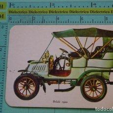 Coleccionismo Calendarios: CALENDARIO DE BOLSILLO. AÑO 1971. COCHE CLÁSICO BOLIDE 1900. Lote 125860631