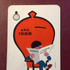Coleccionismo Calendarios: CALENDARIO FOURNIER,1968.. Lote 125935130