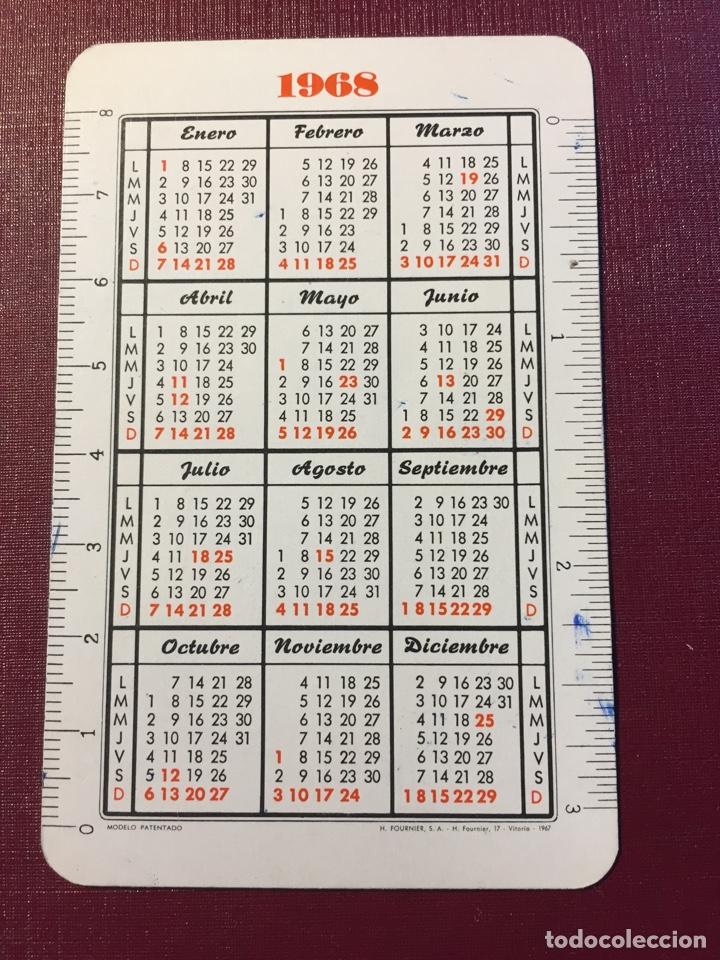 Coleccionismo Calendarios: Calendario Fournier,1968. - Foto 2 - 125935884