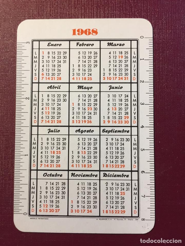 Coleccionismo Calendarios: Calendario Fournier,1968. - Foto 2 - 125936375