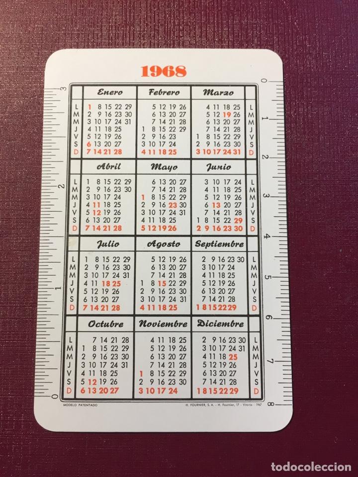 Coleccionismo Calendarios: Calendario Fournier,1968. - Foto 2 - 125940808