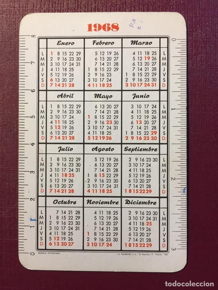 Coleccionismo Calendarios: Calendario Fournier,1968. - Foto 2 - 125942464