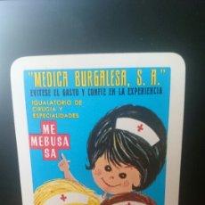 Coleccionismo Calendarios: FOURNIER, 1968,MEBUSA, BURGOS, ORIGINAL PERFECTO. Lote 126069459