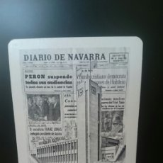 Coleccionismo Calendarios: FOURNIER, 1972,DIARIO NAVARRA, ORIGINAL, PERFECTO. Lote 126083823