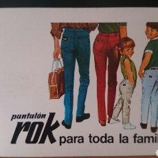 Coleccionismo Calendarios: FOURNIER 1967,ROK PANTALÓN, ORIGINAL, PERFECTO,. Lote 126134724